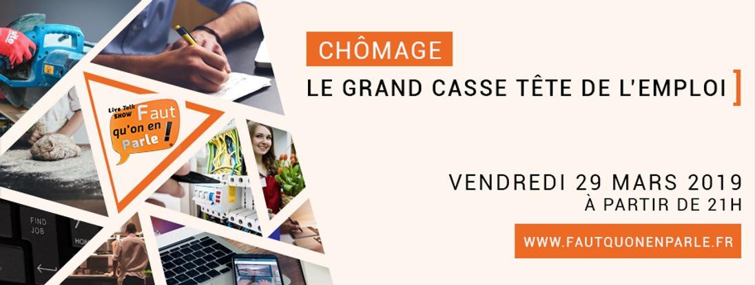CHÔMAGE: LE GRAND CASSE-TÊTE DE L'EMPLOI !