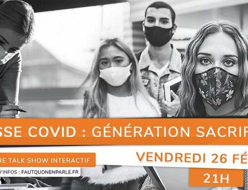 Jeunesse Covid : génération sacrifiée !