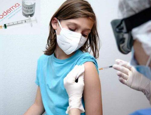 Moderna annonce des résultats positifs pour son vaccin Covid pour les 6-11 ans